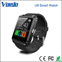 U8 Bluetooth Smart Watch WristWatch Phone with Camera Touch Screen for IOS Iphone Android Smartphone Samsung Smartphone black
