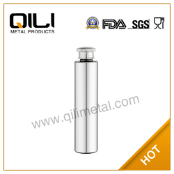 Sanding stainless steel cigar hip flask