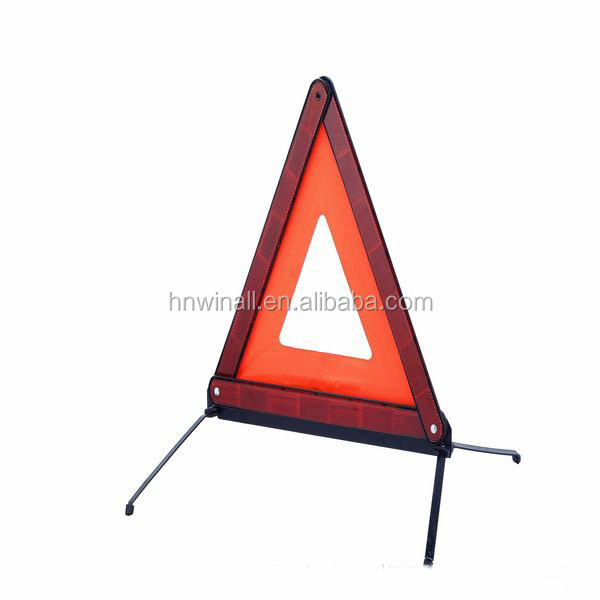 cheap folding reflective triangle for auto safety
