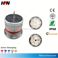 High Quality Configuration aviation obstruction light with solar panel