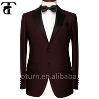 2015 New Style Wine Color Wedding Dress Suits For Men
