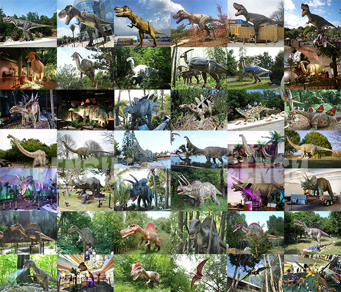 Dinosaur Theme Outdoor Robot Dinosaurs For Sale