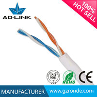 Well Done For Cat3 Telephone Jumper Cable With CCA/CCS