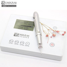 Rechargeable Eyebrow Permanent MakeUp Digital Tattoo Machine rotary
