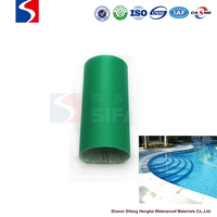 waterproof roof membrane pvc stadium material polyester reinforced