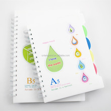 Promotion hard cover note book