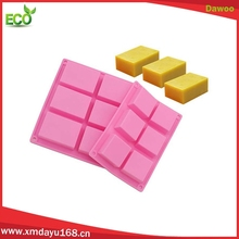 6-Cavity Rectangle Premium Cake Mold Silicone soap bar mold