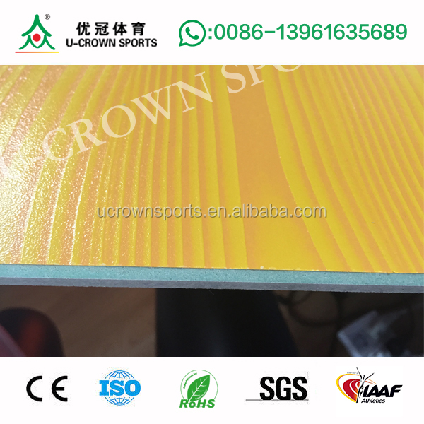 basketball court wood floor with PU/TPU/Acrylic for basketball court flooring
