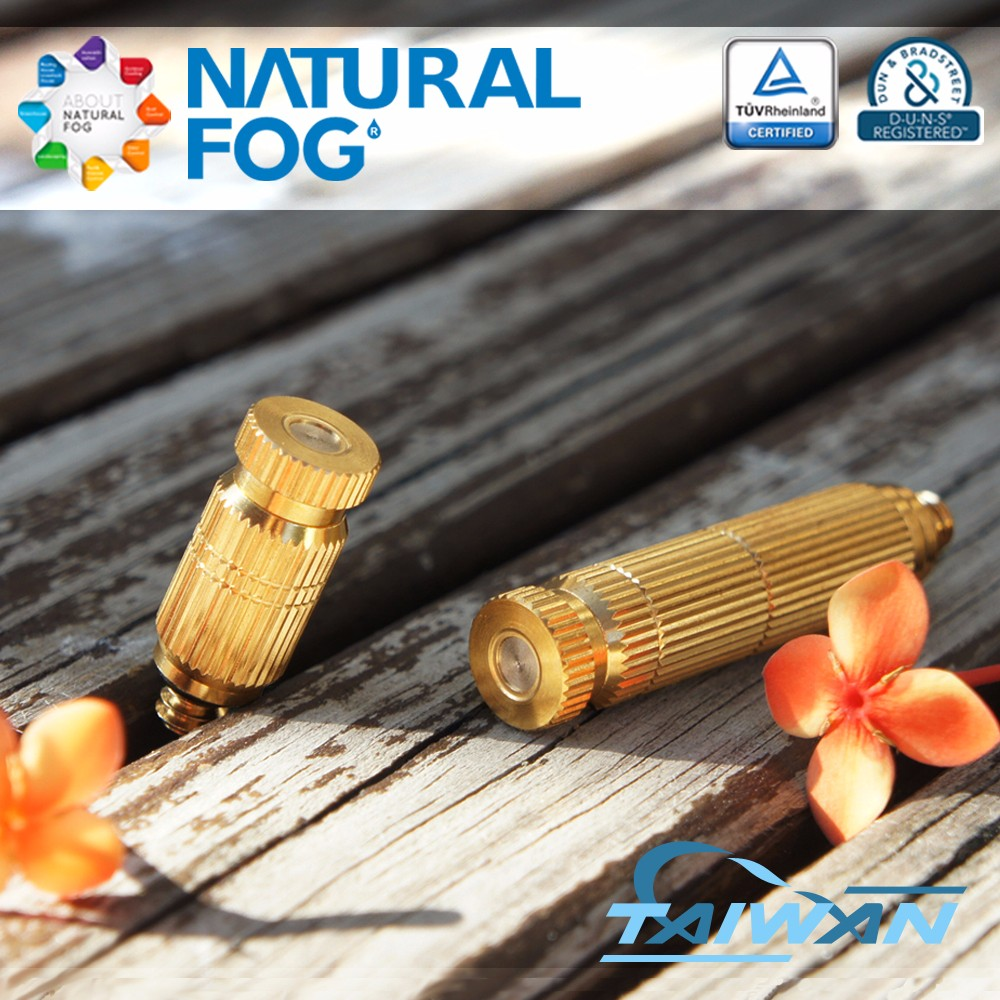 Taiwan Natural Fog Stable Greenhouse Fruit and Vegetables Growing Brass Nozzle