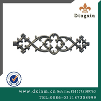 The rustic cast iron garden ornaments used wrought iron fencing and steel gate designsfor sale