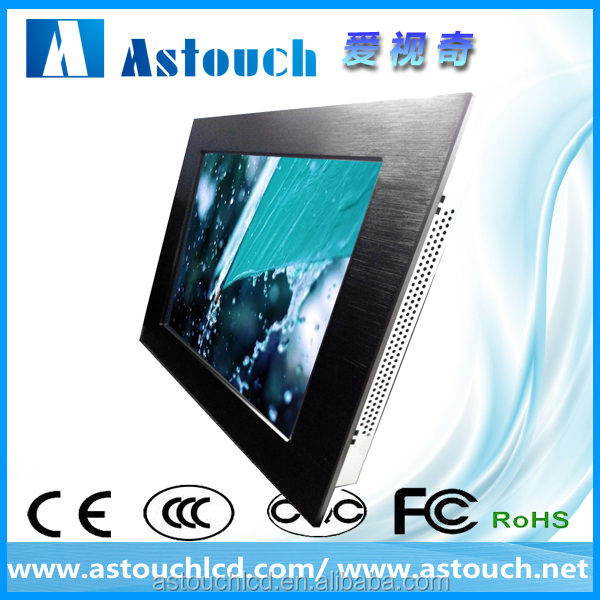 LCD display module/19 inch panel mount industrial monitor/Touch Screen Monitor/FCC CE ROHS certificate