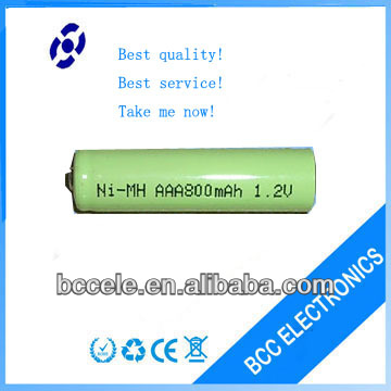 Best price 1.2v 800mah AAA nimh battery cell