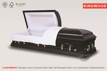 CardCAMERON Wooden Casket In Wuhu coffin liners