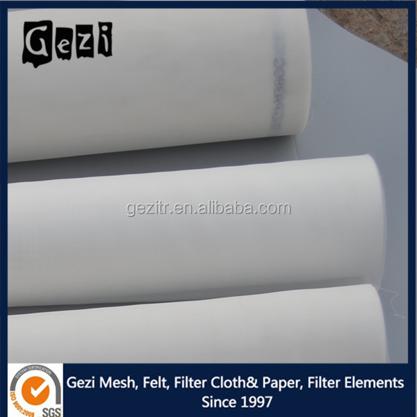 Gezi factory 100% quality micron nylon dust filter mesh