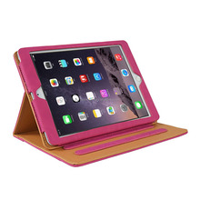 2015 New hot selling stand leather smart cover case for iPad pro