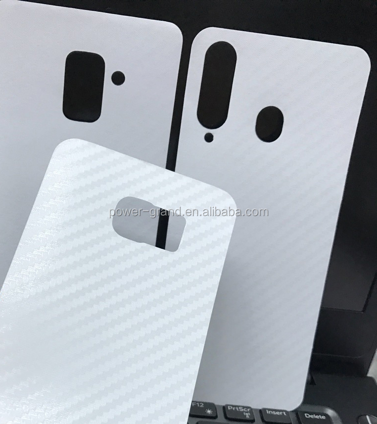 Vinyl Carbon fiber Back protective skin sticker film for Samsung Galaxy A8 2018 A8 Plus 2018 A8S