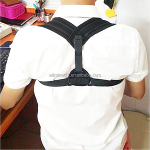 Upper Back Posture Corrector for Men Women, Adjustable Comfortable Clavicle Support to Improve Hunchback
