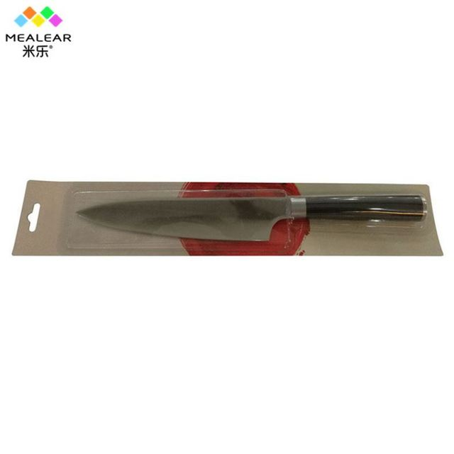professional sharp micarta chef's knife with g10 handle