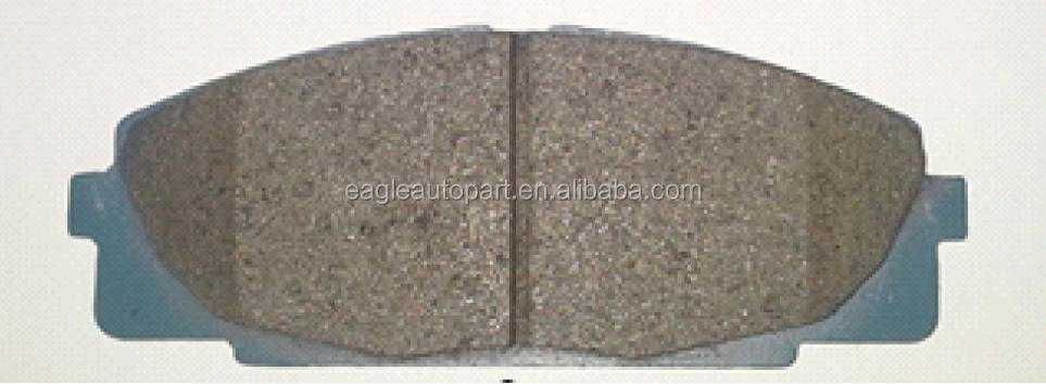 high copy 04465-25010 brake pad For toyota Dyna Hiace Bus 1RZ