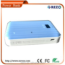 Dual USB Luggage 7800mah Extra Battery Portable Smart Mobile Power Bank