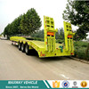 3 Axle Excavator Transport Low Bed