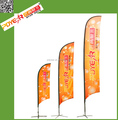 2017 wholesale polyester block bowflags