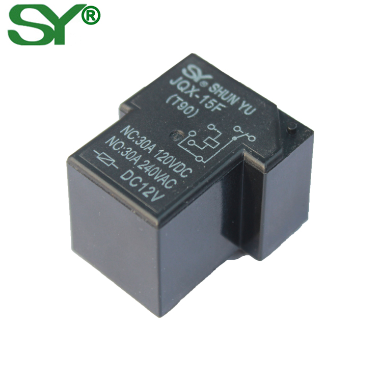 China Manufacturer T90 12V 30A high power refrigerator relay with competitive price