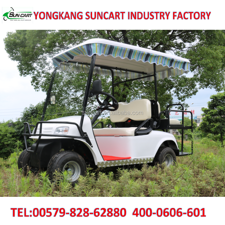 electric golf cart cheap golf cart with beautiful roof cover,2017 new model