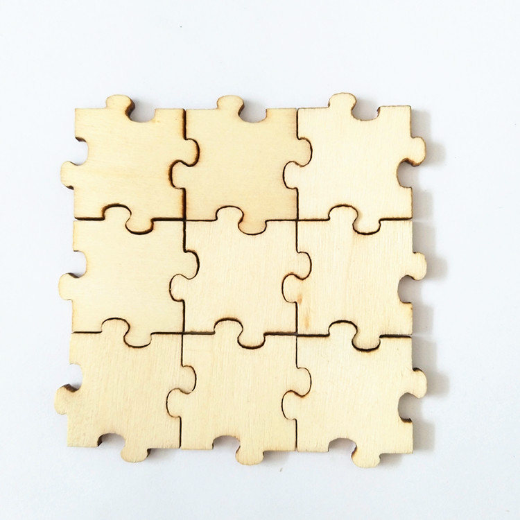Creative And Imagnation Natural Wooden Puzzle For Children