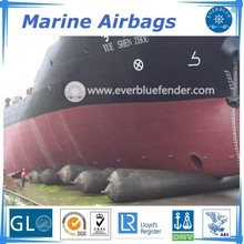 ship launching D2*L15m marine airbags comply with LR certification