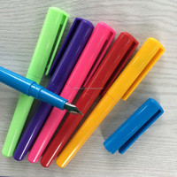 promotional school cheap plastic fountain pen