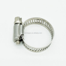 Adjustable American Type 1/2'' wide band worm drive gutter price hose clamp