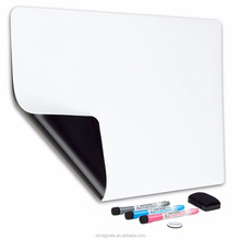 Blank Magnetic Refrigerator Planner Dry Erase Magnetic Whiteboard For Kitchen
