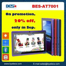 Big discount 512m 4g 800x480 oem brand q88 7 inch android tablet pc mp5