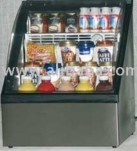 Drink Cooler Showcase, Beverage Display Cooler , Mini Showcase/ Fridge for promotial use for the point of sales