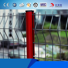 China manufacturer PVC coated welded low price iron wire mesh fences