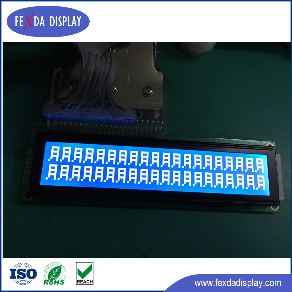 20 * 02 Character LCD LCM Module STN type blue Monochrome lcd display for printer