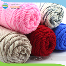 100% Natural Cotton MultiColor Scarf Knitting Woolen Yarn