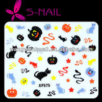 Funny Design 3D Printer Nail for Halloween wholesale