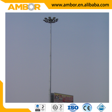 High quality Environmental friendly steel round poles prices