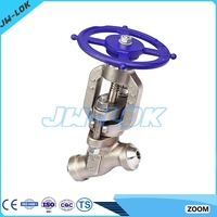 class 4500 Y globe valve integral forged body better than VELAN