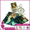 Custom cotton digital printed hand towel for home use