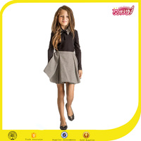 fashion little girls models of school uniform stylish women dress suits