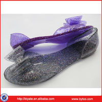 Beautiful and new design jelly shoes for adults