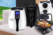 Single Number Of Electric 2016 Newest & Healthy Hot Sell Air Deep Fryer With Multiple Thermostat Oil Free Cooking