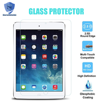 Glass Screen Protector for iPad 2 3 4 (2 packs), 0.33mm 2.5D Ultra Thin 9H Crystal Clear Tempered Glass High Response For iPad