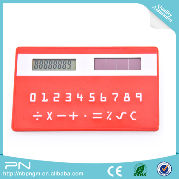 promotional new pocket solar calculator, new solar power pocket calculator