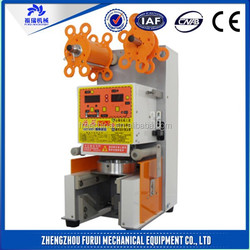 High efficiency cup sealing machine/juice cup sealer