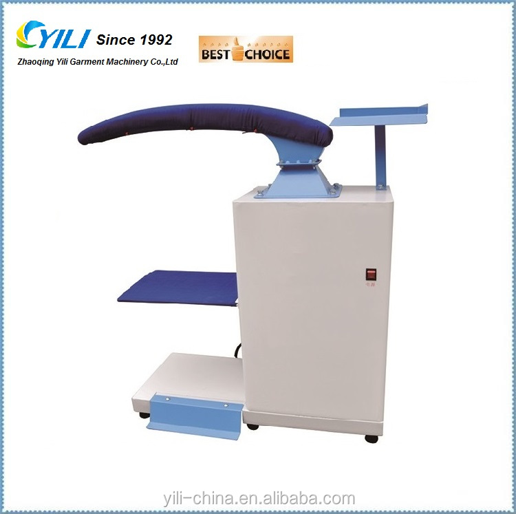 industrial sleeve ironing machine, laundry and garment factory ironing table for sleeve