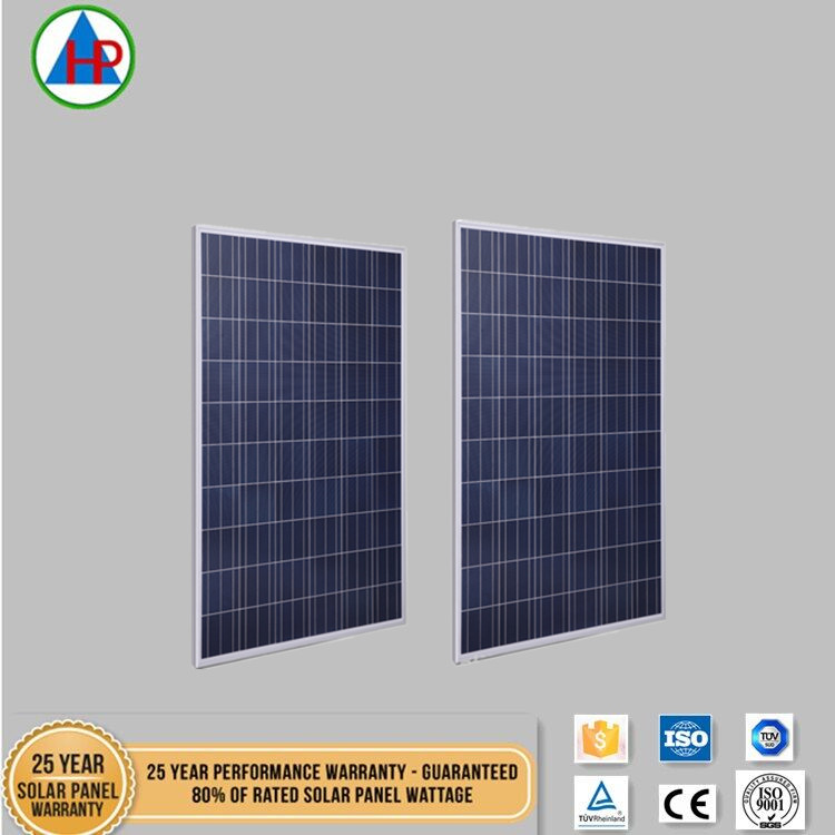 250w Poly crystalline solar panels 60solar cells with high quality
